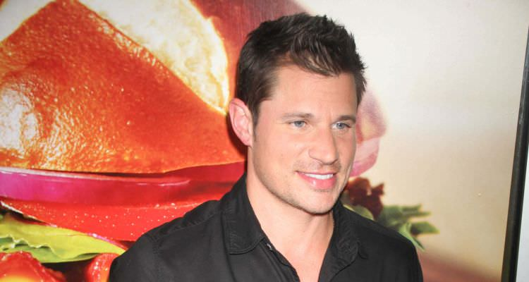 Nicky Lachey Celebrate Wendy's new Pretzel Bacon Cheeseburger at Wendy w.34st
